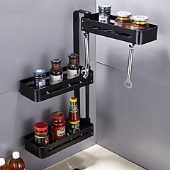 abordables Almacenamiento para la Cocina-Organización de cocina Repisas y Soportes Acero Inoxidable Fácil de Usar 1pc
