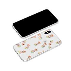 Недорогие Кейсы для iPhone 5-Кейс для Назначение Apple iPhone X / iPhone 8 Plus С узором Кейс на заднюю панель Мультипликация / Фрукты Мягкий ТПУ для iPhone X / iPhone 8 Pluss / iPhone 8