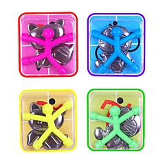 abordables Ofertas especiales-10 pcs Juguetes Magnéticos Minihombrecillos de goma magnéticos Hombrecillos de goma magnéticos Bloques de Construcción Silicona Juguetes de oficina Magnética Niños Chico Chica Juguet Regalo