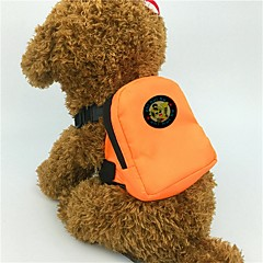 cheap Dog Supplies & Grooming-Dogs / Cats / Furry Small Pets Carrier & Travel Backpack Pet Carrier Mini / Cute Solid Colored / Animal Orange / Red / Green