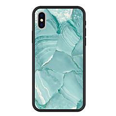 Недорогие Кейсы для iPhone 5-Кейс для Назначение Apple iPhone X / iPhone 8 Plus С узором Кейс на заднюю панель Мрамор Твердый Акрил для iPhone X / iPhone 8 Pluss / iPhone 8