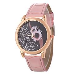 お買い得  レディース腕時計-Xu™ 女性用 リストウォッチ 中国 カジュアルウォッチ / 愛らしいです PU バンド カジュアル / ファッション ブラック / 白 / ブルー