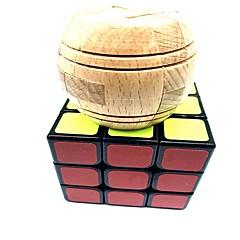 preiswerte Magischer Würfel-Zauberwürfel 6 Stücke WMS Holz-Handwerk / USB Spielzeug / Scramble-Würfel / Floppy-Würfel 3*3*3 Glatte Geschwindigkeits-Würfel Magische Würfel Puzzle-Würfel Schule / Stress und Angst Relief