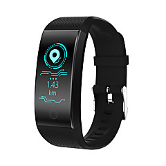 cheap Smartwatches-QW18 Smartwatch Android iOS Bluetooth Waterproof Heart Rate Monitor Blood Pressure Measurement Touch Screen Calories Burned Pedometer Call Reminder Activity Tracker Sleep Tracker Sedentary Reminder