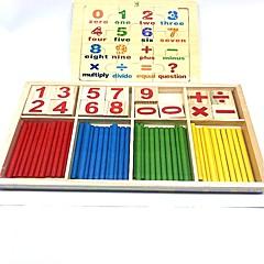 abordables Kid tablet-Juguete de Lectura Número Colegio Madera / Bambú Niños Niño Chico Chica Juguet Regalo 2 pcs