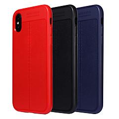 Недорогие Кейсы для iPhone 7-Кейс для Назначение Apple iPhone X / iPhone 8 Защита от удара / Матовое Кейс на заднюю панель Однотонный Мягкий ТПУ для iPhone X / iPhone 8 Pluss / iPhone 8