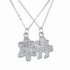 preiswerte Halsketten-Damen Lang Anhängerketten - Kreativ Modisch Blau 60 cm Modische Halsketten 1pc Für Halloween, Klub