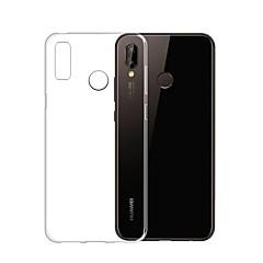 お買い得  Huawei Pシリーズケース/ カバー-ケース 用途 Huawei P20 Pro / P20 lite 超薄型 / クリア バックカバー ソリッド ソフト TPU のために Huawei P20 / Huawei P20 Pro / Huawei P20 lite