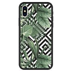 お買い得  iPhone 5S/SE ケース-ケース 用途 Apple iPhone X / iPhone 8 Plus パターン バックカバー 植物 / 幾何学模様 / カートゥン ハード アクリル のために iPhone X / iPhone 8 Plus / iPhone 8