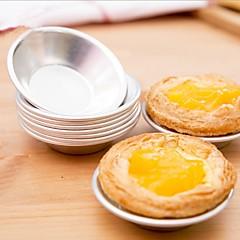 お買い得  ベイキング用品&ガジェット-6本のカップケーキのタルトホルダークッキープディングの卵の金型アルミの金型のケーキのベーキングツール