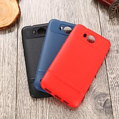 Недорогие Чехлы и кейсы для Huawei серии Y-Кейс для Назначение Huawei Y5 II / Honor 5 IMD Кейс на заднюю панель Однотонный Мягкий ТПУ для Huawei Y5 II / Honor 5