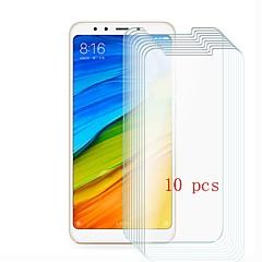 Недорогие Защитные плёнки для экранов Xiaomi-Защитная плёнка для экрана для XIAOMI Xiaomi Mi 5 Закаленное стекло 10 ед. Защитная пленка для экрана Уровень защиты 9H / Защита от царапин