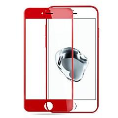 abordables Protectores de Pantalla para iPhone 7 Plus-Protector de pantalla para Apple iPhone 7 Plus Vidrio Templado 1 pieza Protector de Pantalla Frontal Dureza 9H / Borde Curvado 3D