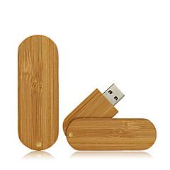 お買い得  USBメモリー-Ants 32GB USBフラッシュドライブ USBディスク USB 2.0 ウッド / 丈 回転