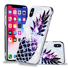 abordables Fundas para iPhone 6s Plus-Funda Para Apple iPhone X / iPhone 8 Plus Diseños Funda Trasera Fruta Suave TPU para iPhone X / iPhone 8 Plus / iPhone 8