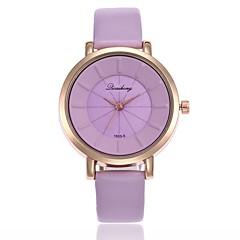preiswerte Damenuhren-Damen Kleideruhr / Armbanduhr Chinesisch Armbanduhren für den Alltag PU Band Freizeit / Modisch Schwarz / Weiß / Blau