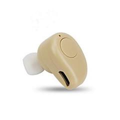 abordables Accesorios para Auriculares-Auricular y Micrófono / Funda para auriculares El plastico Dorado / Blanco / Negro 1 pcs