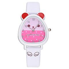 preiswerte Damenuhren-Damen Kleideruhr Chinesisch Chronograph / Kreativ Silikon Band Modisch Rosa / Edelstahl