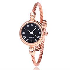 preiswerte Damenuhren-Damen Armband-Uhr / Armbanduhr Chinesisch Armbanduhren für den Alltag Legierung Band Modisch / Minimalistisch Schwarz / Silber / Gold