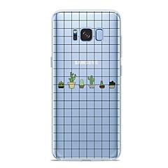 abordables Galaxy S6 Edge Carcasas / Fundas-Funda Para Samsung Galaxy S9 Plus / S9 Diseños Funda Trasera Plantas Suave TPU para S9 / S9 Plus / S8 Plus