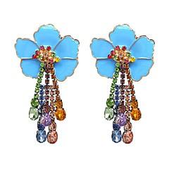 preiswerte Ohrringe-Damen Vintage Stil Dicke Kette Kreolen - Beiläufig / sportlich, Gothic, Modisch Gelb / Fuchsia / Blau Für Strasse Klub