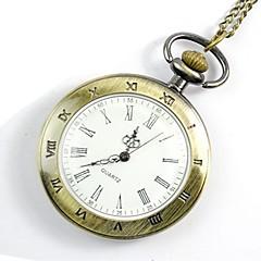 levne Kapesní hodinky-Pánské Kapesní hodinky Digitální Hodinky na běžné nošení Cool Slitina Kapela Analogové Na běžné nošení Módní Zlatá - Zlatá