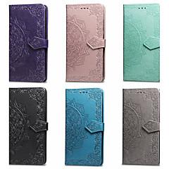 Недорогие Кейсы для iPhone 6 Plus-Кейс для Назначение Apple iPhone X / iPhone 8 Кошелек / Бумажник для карт / со стендом Чехол Мандала Твердый Кожа PU для iPhone X / iPhone 8 Pluss / iPhone 8