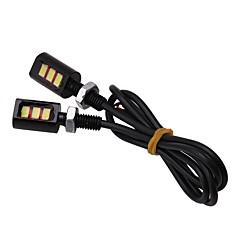 Недорогие Фары для мотоциклов-2pcs Мотоцикл / Автомобиль Лампы 3 W SMD 5630 3 Светодиодная лампа Лампа поворотного сигнала / Мотоцикл Назначение