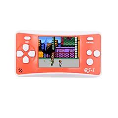 abordables Videoconsolas-RS-1 Consola de juego Construido en 152 pcs Juegos 2.5 pulgada pulgada Portátil / Cool