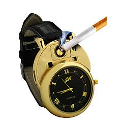preiswerte Herrenuhren-Herrn Armbanduhr Japanisch Chronograph / Kreativ / Neues Design Leder Band Armreif / Minimalistisch Schwarz / Braun