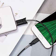 abordables Cables y Adaptadores para Teléfono-Micro USB Adaptador de cable USB Alta Velocidad / Carga rapida Cable Para Samsung / Huawei / Xiaomi 120 cm TPE