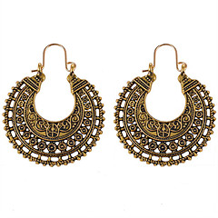 preiswerte Ohrringe-Damen Synthetischer Tansanit Lang Tropfen-Ohrringe - Kreativ Retro, Ethnisch, Modisch Gold / Silber Für Abiball / Geburtstag