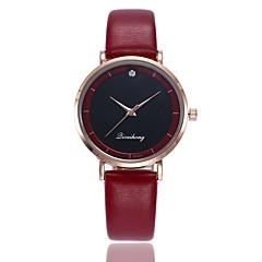 preiswerte Damenuhren-Damen Armbanduhr Chinesisch Neues Design / Armbanduhren für den Alltag PU Band Freizeit / Modisch Schwarz / Weiß / Rot