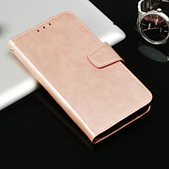 abordables Fundas para iPhone 7 Plus-Funda Para Apple iPhone X / iPhone 8 Cartera / Soporte de Coche / Flip Funda de Cuerpo Entero Un Color Dura Cuero de PU para iPhone X / iPhone 8 Plus / iPhone 8
