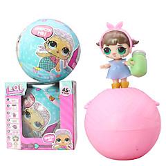 abordables muñecas-juguetes de peluche Juguetes Redondo Simple Plástico blando 1 Pcs
