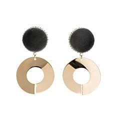 preiswerte Ohrringe-Damen Kronleuchter Seil Tropfen-Ohrringe - Gothik, Natur, Hip-Hop Gold Für Normal Party