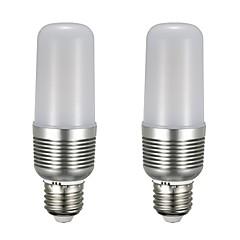 お買い得  LED 電球-2pcs 12 W 1100 lm E26 / E27 LEDコーン型電球 T 43 LEDビーズ SMD 5730 新デザイン 温白色 / ホワイト 85-265 V