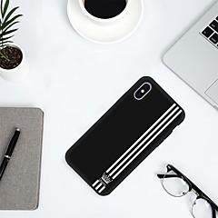 Недорогие Кейсы для iPhone 7-Кейс для Назначение Apple iPhone 8 / iPhone 6 С узором Кейс на заднюю панель Слова / выражения Мягкий ТПУ для iPhone X / iPhone 8 Pluss / iPhone 8
