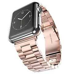 お買い得  メンズ腕時計-ステンレス 時計バンド ストラップ のために Apple Watch Series 3 / 2 / 1 ブラック / シルバー / ゴールド 23センチメートル / 9インチ 2.1cm / 0.83 Inch