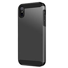 voordelige iPhone-hoesjes-bentoben case voor apple iphone xs max schokbestendig / frosted / draadloos opladen receiver case full body gevallen effen gekleurde harde tpu / pc voor iphone xs max