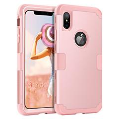 abordables Coques d'iPhone-étui bentoben pour apple iphone xr / iphone xs max étuis complet du corps antichocs solide coloré pc dur / gel de silice pour iphone xr / iphone xs max