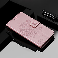 お買い得  iPhone 5S/SE ケース-ケース 用途 Apple iPhone XS / iPhone XR ウォレット / カードホルダー / スタンド付き フルボディーケース 猫 / 木 ハード PUレザー のために iPhone XS / iPhone XR / iPhone XS Max