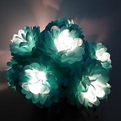 お買い得  LED ストリングライト-1.5m ストリングライト 10 LED 温白色 新デザイン / 装飾用 / クール 単3乾電池 1セット