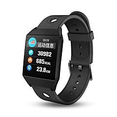 abordables Relojes Inteligentes-Pulsera inteligente W1 para iOS / Android Impermeable / Pantalla Táctil / Información / Control de Cámara Podómetro / Recordatorio de Llamadas / Recordatorio sedentaria