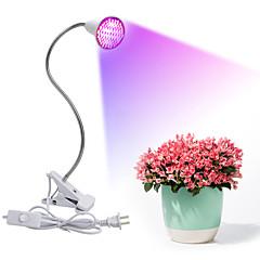 preiswerte LED-Birnen-4.5W 2500-300lm E27 Wachsende Lampe 106 LED-Perlen SMD 2835 Blau Rot 85-265V