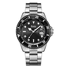 preiswerte Herrenuhren-Oulm Militäruhr Armbanduhr Sender Kalender, Großes Ziffernblatt Schwarz / Grün / Blau / Ein Jahr / Japanisch / Japanisch / SSUO 377