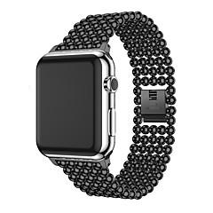 preiswerte Herrenuhren-Aleación Uhrenarmband Gurt für Apple Watch Series 3 / 2 / 1 Schwarz 18cm / 7 Inch 2.2cm / 0.9 Inch
