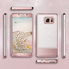 Недорогие Чехлы и кейсы для Galaxy Note 5-bentoben case для Samsung Galaxy Note 5 покрытие / ультра тонкий / блеск блеск задняя крышка твердый цветной мягкий tpu / шт для примечания 5