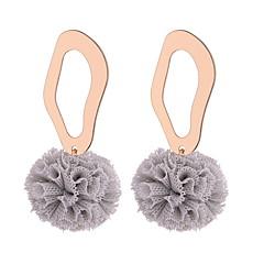preiswerte Ohrringe-Damen Hohl Tropfen-Ohrringe - Kugel Einfach, Süß, Modisch Rot / Blau / Rosa Für Party Verabredung