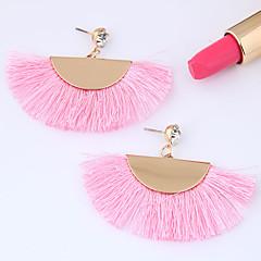 preiswerte Ohrringe-Damen Quaste Tropfen-Ohrringe - Einfach, Europäisch, Modisch Blau / Rosa / Leicht Rosa Für Normal